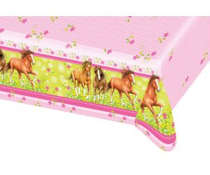 pferde tischdecke
