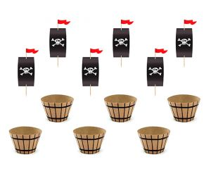 pirates cupcake 1