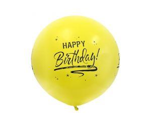 riesenballon geburtstag gelb 1