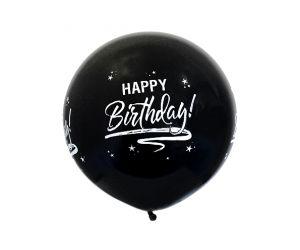 riesenballon geburtstag schwarz 1