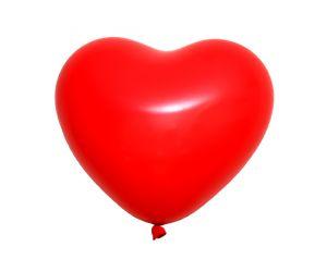 riesenballon herz rot 1