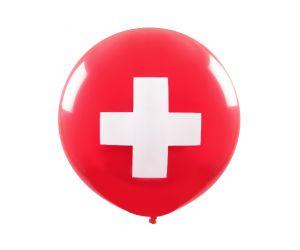 riesenballon schweizerkreuz 1