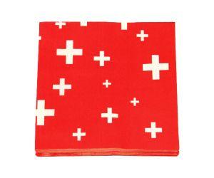 schweizerkreuz servietten 1