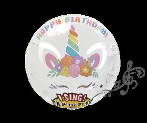 singender ballon geburi einhorn 1