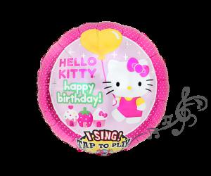 singender ballon kitty 1