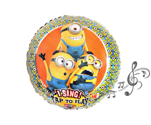 singender ballon minions 1
