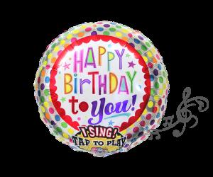singender ballon party 1