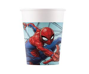spiderman becher