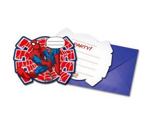 spiderman einladungskarten