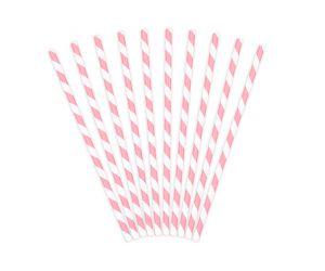 trinkhalme papier rosa 1