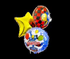 ballon bouquet globi geburtstag