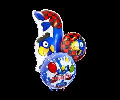 ballon bouquet globi geburtstag gross