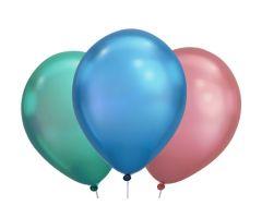 ballons assortiert chrome 1