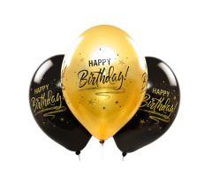 ballons happybirthday gold 1