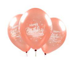 ballons happybirthday rosegold 1