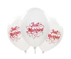 ballons justmarried weiss 1