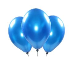 ballons metallic koenigsblau 1