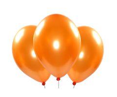 ballons metallic orange 1