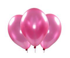 ballons metallic pink 1