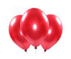 ballons metallic rot 1