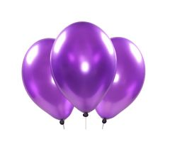ballons metallic violett 1