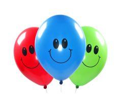 ballons smiley assortiert 1