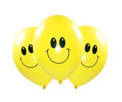 ballons smiley gelb 1