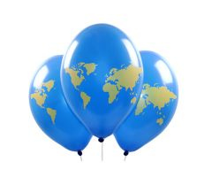 ballons weltkugel 1