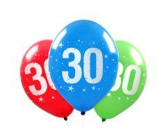 ballons zahl30 1