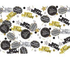 deko konfetti birthday elegant 1