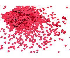 deko konfetti herz rot 1