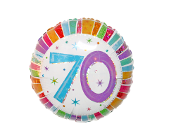 geschenkballon 70 geburtstag 1