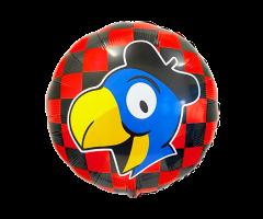 geschenkballon globi karo