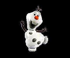 geschenkballon schneemann olaf 1