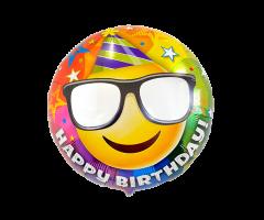 geschenkballon smiley happy birthday 1