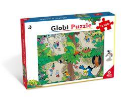 globi puzzle zoo