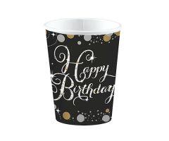 happy birthday elegant becher
