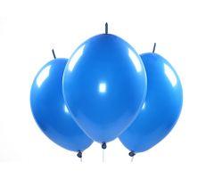 kettenballons blau 1