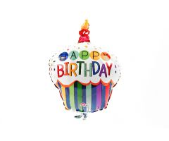 mini folienballon cupcake 1