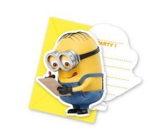 minions einladungskarten