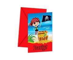 piraten einladungskarten
