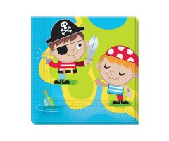 piraten servietten