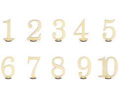 tischnummern holz 1